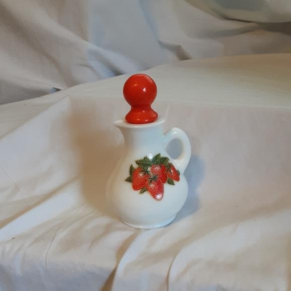 Avon Strawberries & Cream bath foam bottle